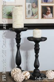 pottery barn candle holders page 1