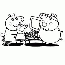 Leuk Voor Kids Peppa Het Biggetje Kleurplaten Beste Kleurplaat