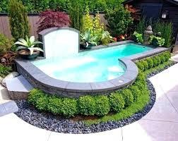 inground pools nj small fiberglass pool s central cost