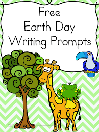 Earth Day Writing Prompts- Learning to Write is fun! Cute Writing ...