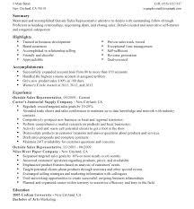 Inside Sales Resume Example Inside Sales Resume Auto Sales Resume ...