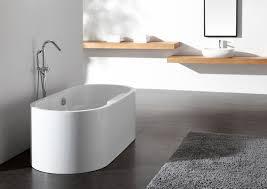modern bath tub roma solid surface modern bathtub  modern