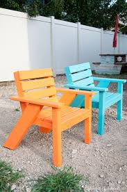 create the perfect backyard seating with these easy diy kids patio chairs the chairs are