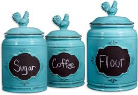 Turquoise Kitchen Decor Turquoise Kitchen Canisters Winda 7 Furniture