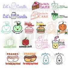 Cute Template Cute Foods Live Template Mini Pack 5