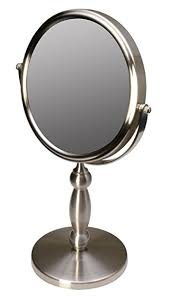 floxite fl 15v 15 extra strong 15x 1x supervision vanity mirror brushed nickel