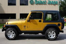 Rare Rubicon Combination In Inca Gold Only Available In 2003