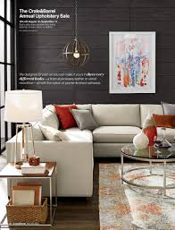 crate and barrel living room ideas. Charming Design Crate And Barrel Chairs Living Room August Collection Page Leather Chair Ottoman Home Ideas
