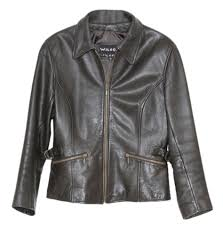 wilsons leather brown jacket