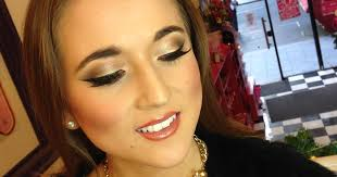 watch liverpool s make up artists to the stars peaches and cream create a festive look for you to try liverpool echo