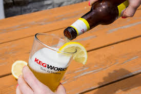 luckily a beer can be pleasantly cooling when consumed under the summer sun especially if it has been properly chilled drink too much though