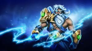 zeus the thundergod fan art dota 2