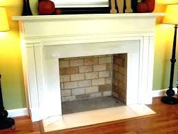 fireplace surround kits faux stone kit contemporary mantel mantels