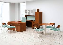 Desk with drawer workstation WaveWorks National fice