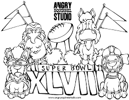 Small Picture Super Bowl Coloring Pages GetColoringPagescom