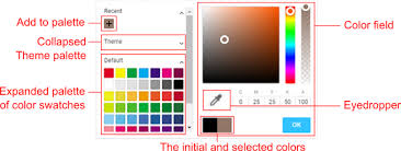 All colors / colours are individually named color swatch (*.aco) files were created in photoshop cc 2018. Color Picker Customer S Canvas