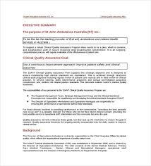 Quality Assurance Plan Example 12 Quality Assurance Plan Templates Free Sample Example Format