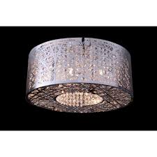 8 lights bird nest flush mount ceiling light fixture inca laser cut shade crystal insideceiling lights