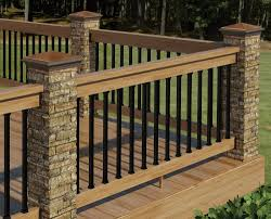 dazzling deck railing ideas home depot cable systems