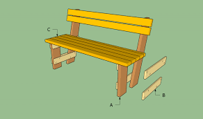 Small Picture Free garden bench plans HowToSpecialist How to Build Step by