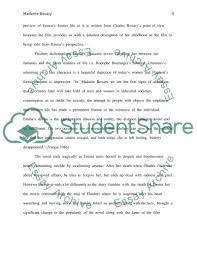 madame bovary reflection essay example topics and well written related essays madame bovary