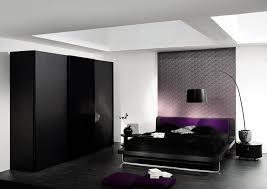 sleek bedroom decor ideas with integrated room dark black purple bedroom design with extraordinary wooden