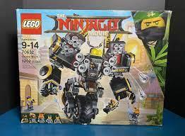 2018 LEGO The Ninjago Movie Set- Quake Mech (70632) – Trends Elite