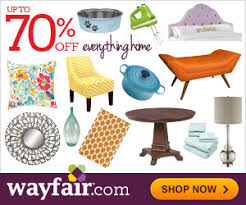 Save up to 70% on furniture and decor at Wayfair Promo Code