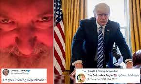Donald Trump tweets bizarre rants by ex ...