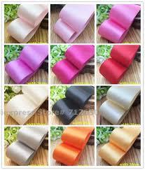 1 1/2'' (38mm) Solid Satin <b>Ribbon</b> Double face Tape Silk <b>Ribbon</b> ...