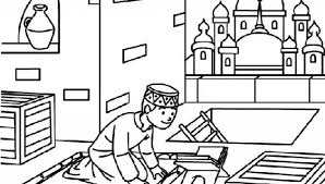 Islamic Coloring Pages Islamic Coloring Pages Ramadan Coloring Pages