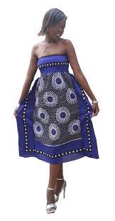 African Khanga Designs Khanga Dress African Fashion African Attire African Wear