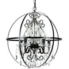 black orb chandelier lovely orb chandelier with crystals chandelier astounding fan light charming chandelier fan light