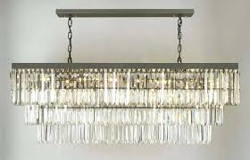 chandelier amusing rectangular drum shade linen pendant rectangle grey iron and crystal rectangular shade chandelier