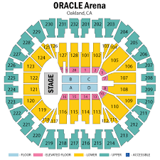 Oracle Arena Seating Chart Concert 36 Extraordinary Oracle Arena 3d Seat View