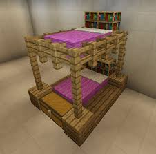 Minecraft Furniture Bedroom Minecraft Furniture Chairs And Table With Runner Wool Base