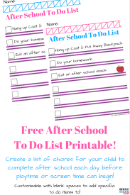 Sample Chore List Free Printable Chore List For Kids Must Have Mom 18