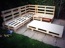 Pallet Bench With Cushion Google Search Pallets Gardenpallet Gardening Wood.  table and bench outdoor furniture ...