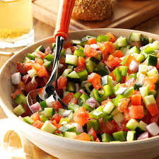 fresh garden salad. Brilliant Fresh It Doesnu0027t Take Long To Prepare This Fresh Garden Salad Perfect For  Parties Gettogetheru0027s And Other Summer Celebrations  Chopped Garden Salad Recipe  Intended Fresh L