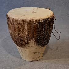 African Drum Coffee Table African Drum Side Table Occasional Small Low Antiques Atlas