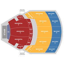 Xfinity Theater Hartford Detailed Seating Chart Bushnell Hartford Tickets Schedule Seating Chart