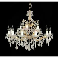 rh 19th c rococo white crystal chandelier a modern industrial lighting design on dezignlover com