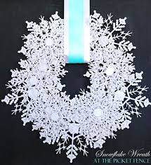 Best 25 Diy Christmas Snowflakes Ideas On PinterestSnowflakes For Christmas Tree