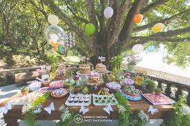 garden themed dessert table from a erfly garden birthday party on kara s party ideas karaspartyideas