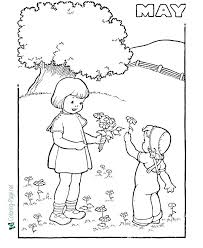 Spring Coloring Pages For Toddlers Spring Color Pages Spring