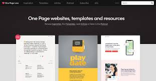 Free Web Templates For Employee Management System One Page Love One Page Website Inspiration And Templates