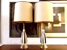 rectangular table lamps rectangular shaped modern side table lamp