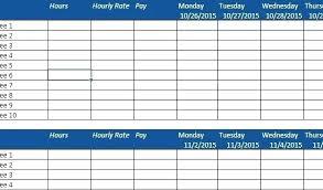 Calendar Schedule Maker Template