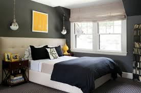 Small Bedroom Ideas For Men Brown Wool Bed Cover Block Board Stained