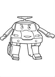 Poli Free Coloring Pages
